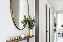 Entryway Decor and Style Ideas / Design and decor ideas for your entryway, mudroom, or drop zone! Entryway Decor. Entryway Ideas. Entryway Style Boards. Laundry Room Decor. Laundry Room Ideas.