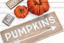 Fall Decor Ideas / Decorations, quotes, recipes, home decor, fashion, and more for the delicious season of Fall! Fall Decor Ideas. Fall DIY Decorations. Fall Projects. Fall Crafts. Fall Recipes.
