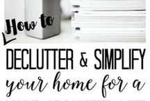 Organization Ideas and Cleaning Tips / Tips for organizing and cleaning your home so it's in tip-top shape! Organization Ideas. Cleaning Tips.