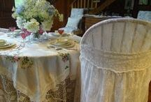 Bridal and Spring Table Settings