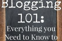 Blogging it up! / Blogging basics and useful tools. / by Shonnie Tabers