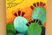 Acrylic Paintings Summer