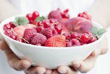 a taste of summer ..red berries