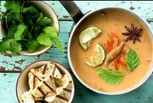 Soups / Just soups! Soups that are for every apetite. There's something in here for everyone. Yummy! I love soups.