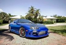 My Future Cars / These are my dream cars of which I hope to own a few of. When our business really takes off, I will start buying these in the order of most wanted, starting with a Toyota Supra.  / by Morris Murphy