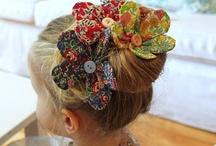 The Flower Craft Academy / fabric flowers, fabric flower craft, how to fabric flowers, faux flowers, fabric flower tutorial / by Rosa Loren Bridal
