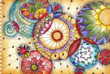 Color Tangle Madness / by Mari Kuehn