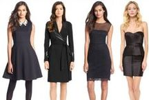 The Little Black Dress / Classic styles and new twists on the little black dress. / by BlogHer