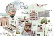 Maps / Fun AND functional travel inspiration.