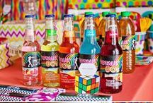 1980's Party / Party ideas, birthday parties, holiday parties, recipe ideas, DIY decorations.