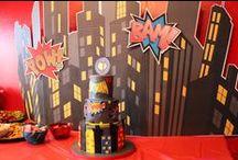 Jaxon's Superhero Birthday