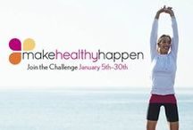 Make Healthy Happen / Eat Better, Lose Weight, Move More and Feel Great with the Make Healthy Happen Challenge / by EatingWell Magazine
