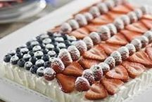 Healthy July 4th Recipes / Healthy recipes for red, white and blue foods plus more!