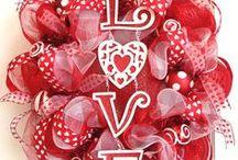 Be my valentine / valentine decor / by Lisa Porter