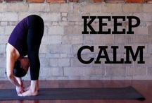 Keep Calm and Yoga! / Aum Shanti