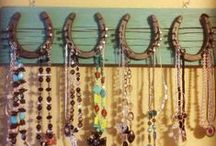 Jewelry Organization & Display / Useful and creative ideas for recycling or building fantastic multipurpose jewelry organizers.