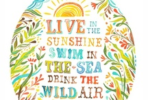 Seas the Day! / Words of wisdom to live by.