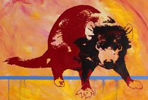 Better The Devil You Know Series / With a face that only a mother could love - the Tasmanian Devil is becoming extinct, sadly due to a facial cancer.  I want to ensure that we REMEMBER...
