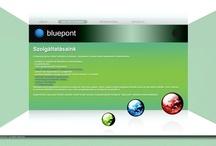 Web Design, bluepont.hu, 2012 / © Zoltán Ferenczi