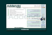 Web Design, Addenda Creative Agency, 2002