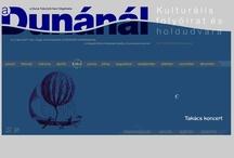 "Web Design, Programning, Content, ""A Dunánál"", 2002 / design, programming, content"
