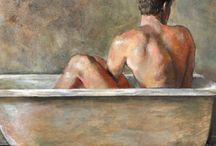 Au masculin / Salles de bain au caractère masculin