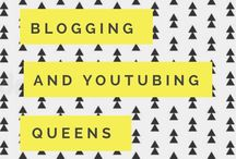 """Blogging + YouTubing Queens! / Hey ladies!! If you're a blogger and/or a YouTuber then this is the group board for you!!!!   TO JOIN // Please add Natalie Brooke or send her your email! ✨  NOTE // All we ask is that you post a vertical graphic with your videos link. There's an app called """"Canva"""" that I use to make them. They're pretty easy! Message Natalie if you have any questions!!"""