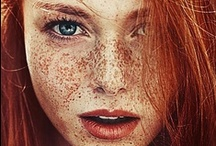 Homage / Faces and figures that I find beautiful = This board is no 100% photography/composition board. Disclaimer: May contain women with gorgeous red hair and freckles. / by Patrick Welker