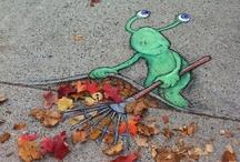 Chalk-Art/Street Art / . / by Patricia Conlon