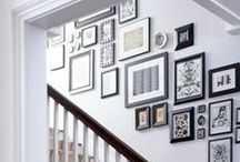 photography display {love} / gallery wall display ~ photography display