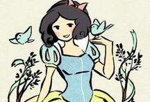 Snow White / by Gail