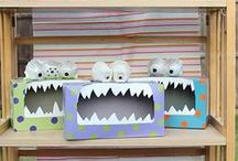 Kids craft and learning ideas