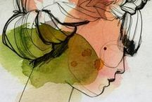 Illustrations, Artworks or the Picturesque / My favorite illustrations / by Hide Tazaki