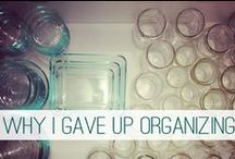clean + organize.