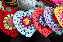 Granny Squares & other crochet projects
