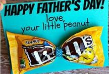 Father's Day Ideas / Celebrate dad with these awesome Father's Day ideas! Father's Day crafts | Father's Day gifts | Father's day meals and more!