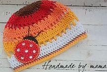 Crochet - Caps, hats for children / by Marian van Kooten-Stok