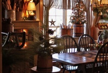 country prim Christmas / by Deb Krus
