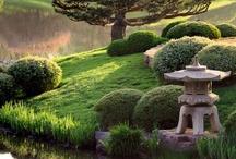 Home: Japanese Gardens, Torii Gates, Bridges, & more / by Sherrie A