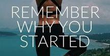 F i t s p i r a t i o n / Inspiration & motivation for workouts