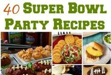Super Bowl Recipes & Ideas / Awesome Super Bowl recipes, Super Bowl decor and the best game day recipes and Super Bowl appetizers from across the web!