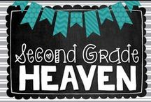Second Grade Heaven / Once added to this Collaborative Pinterest Board, you will be able to pin your BLOG POSTS or IMAGES only to these boards. Please no TpT or TeachersNotebook links.  I would like to flood these boards with valuable blog posts and such rather than just product overload.  / by The Primary Gal
