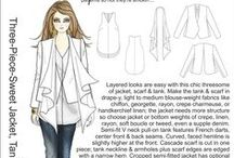 Inspiration...Three-Piece-Sweet Jacket, Tank & Scarf / ...check out the inspiration for our super-cool new pattern...  http://www.hotpatterns.com/hp-1185-three-piece-sweet-jacket-tank-scarf/