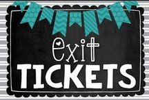 Math | Exit Ticket / Exit Tickets are an effective way to gauge student understanding and bring differentiation to your classroom.  This board is where I stash my favorite Exit Ticket ideas, such as display boards and freebies to help make implementing Exit Tickets into math instruction as easy as possible.