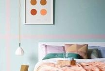 Pastel Home Decor / Pretty pastel home decor, spaces, art... everything light & airy for your feminine style.