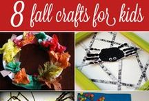 Fall Craft Ideas / These fall craft ideas are great to make with your kids! There are so many great things to make like the Thanksgiving decor, Thanksgiving crafts, Halloween crafts, fall centerpieces and more!