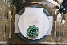 TO AGAVE AND TO HOLD / Succulent Wedding Inspiration