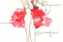 Fashion_ILLUSTRATION / Since I'm finally going to start learning how to draw fashion, I need inspiration!
