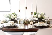 bash | table settings / table setting and tablescapes