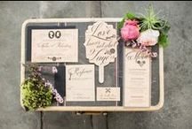 Paper, Invitations, Save-the-Dates, Menu Cards etc!